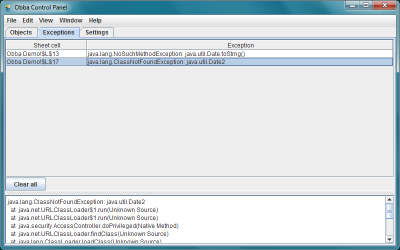 Obba: A Java Object Handler for Excel, LibreOffice and